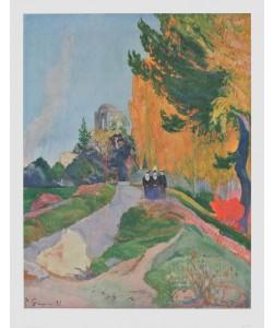 Paul Gauguin, Les Alyscamps, Arles