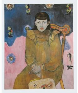 Paul Gauguin, Portrait Vaite (Jeanne) Goupil