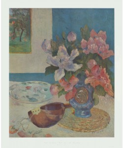 Paul Gauguin, Stilleben mit Mandoline