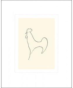 Pablo Picasso, Coq-Detail, 1907 (Büttenpapier)
