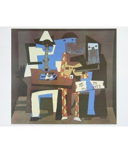 Pablo Picasso, Die drei Musikanten