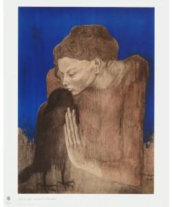 Pablo Picasso, Die Frau mit dem Raben (#NAME?)