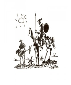 Pablo Picasso, Don Quichote
