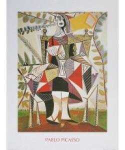 Pablo Picasso, Frau im Garten - Femme au Jardin