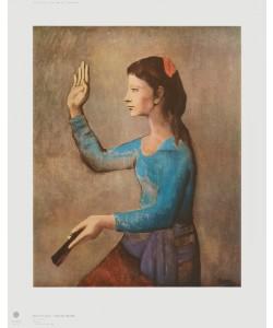Pablo Picasso, Frau mit Fächer