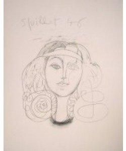 Pablo Picasso, Frauenkopf