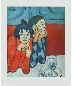 Pablo Picasso, Harlekin und Gesellin