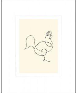 Pablo Picasso, Le coq, 1918 (Büttenpapier)