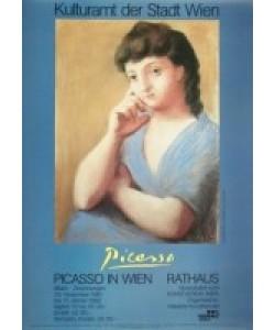 Pablo Picasso, Portrait einer Frau in blauer Jacke