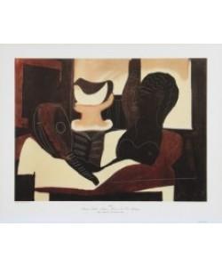 Pablo Picasso, Stilleben mit antikem Kopf