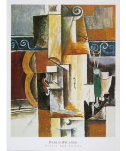 Pablo Picasso, Violine und Gitarre