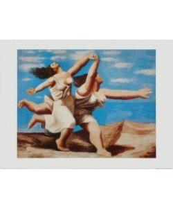 Pablo Picasso, Zwei Frauen am Strand laufend