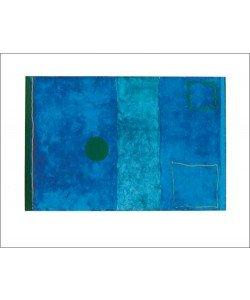 Patrick Heron, Blue painting