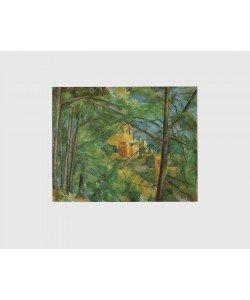 Paul Cézanne, Blick auf Chateau Noir