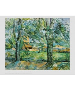 Paul Cézanne, Feld bei Jas de Bouffan