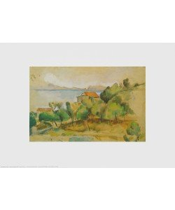 Paul Cézanne, Landschaft am Mittelmeer