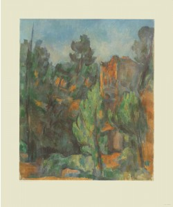 Paul Cézanne, Steinbruch von Bibémus