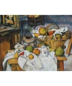Paul Cézanne, Stilleben mit Korb voller Früchte