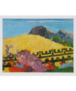 Paul Gauguin, Dort liegt der Tempel, 1892