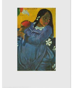 Paul Gauguin, Frau mit Mangofrucht