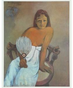 Paul Gauguin, Mädchen mit Fächer, 1902