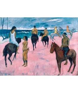 Paul Gauguin, Reiter am Strand