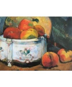 Paul Gauguin, Stilleben mit Pfirsich