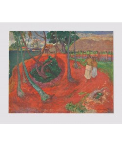 Paul Gauguin, Strandlandschaft auf Tahiti