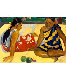 Paul Gauguin, Zwei Frauen auf Tahiti