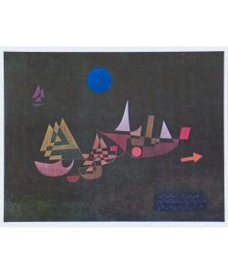 Paul Klee, Abfahrt der Schiffe - 1927