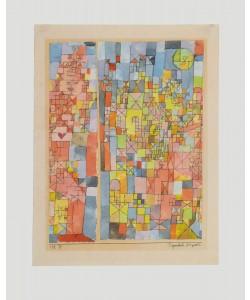 Paul Klee, Dogmatische Komposition (Granolitho-Druck)