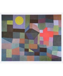 Paul Klee, Feuer bei Vollmond - 1933