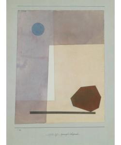 Paul Klee, Gewagt Wägend (Granolitho-Druck)