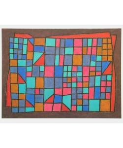 Paul Klee, Glas-Fassade, 1940