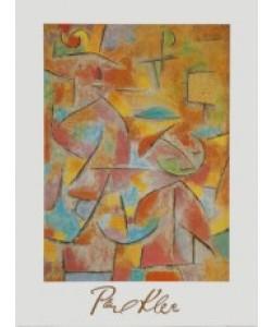 Paul Klee, Kind und Tante, 1937
