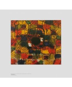 Paul Klee, Komposition mit schwarzem Brennpunkt