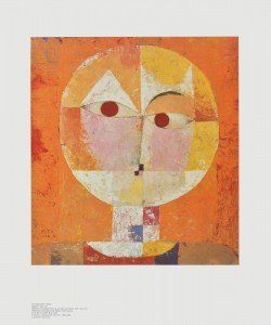 Paul Klee, Kopf eines Mannes - Senecio (Baldgreis)