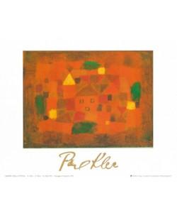 Paul Klee, Paesaggio al tramonto, 1923