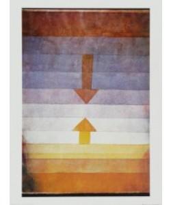 Paul Klee, Scheidung abends, 1922