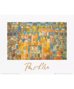 Paul Klee, Tempelviertel von Pert, 1928