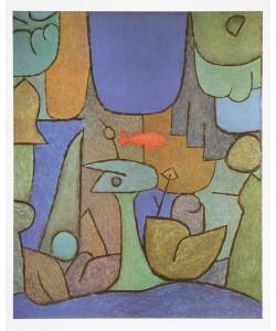 Paul Klee, Unterwassergarten, 1939