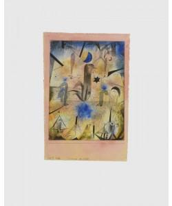Paul Klee, Warnung der Schiffe (Granolitho-Druck)