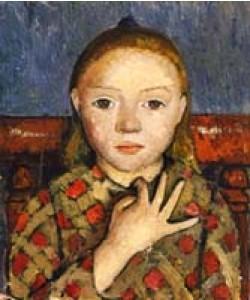 Paula Modersohn-Becker, Mädchenbildnis
