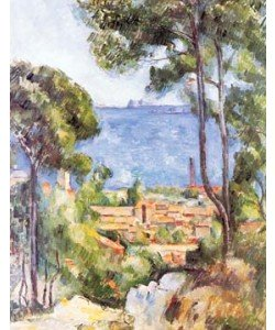 Paul Cézanne, L`Estaque