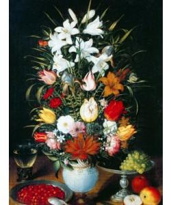 Jan Brueghel der Ältere, Vase mit Blumen