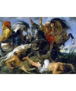 Peter Paul Rubens, Jagd auf Nilpferd und Krokodil
