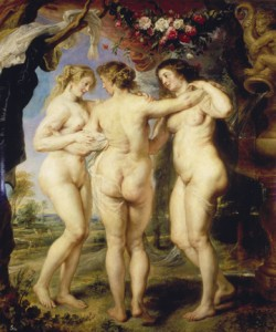 Peter Paul Rubens, Die drei Grazien