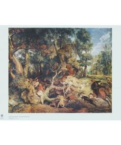 Peter Paul Rubens, Die Wildschweinjagd