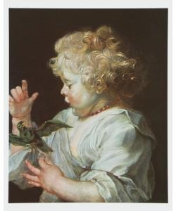 Peter Paul Rubens, Kind mit Vogel, um 1616