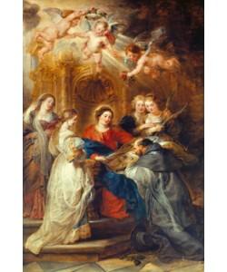 Peter Paul Rubens, Maria erscheint dem heiligen Ildefonso